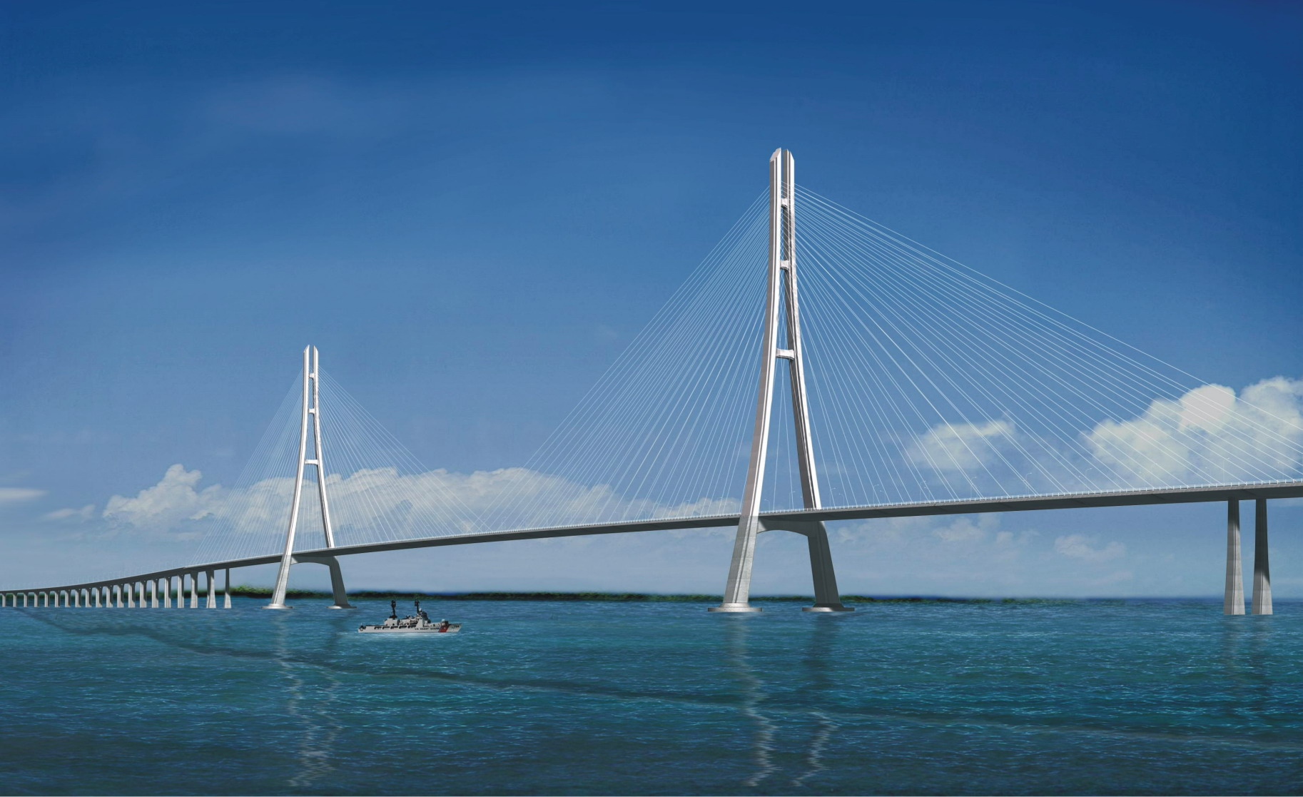 Cable Stayed Bridge ACable Stayed Bridge