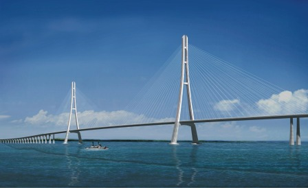 Cable Stayed Bridge A